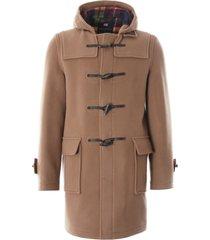 gloverall morris duffle coat   camel   mc3512-cabu