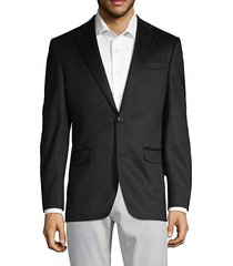 classic cashmere notch jacket