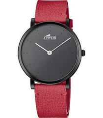 reloj 18780/1 minimalist negro lotus
