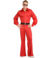 buyseasons men's studio jumpsuit red adult costume