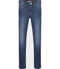 jeans nora ceñidos de algodón power stretch azul tommy hilfiger