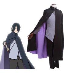 boruto naruto the movie uchiha sasuke cosplay costume japanese anime outfit