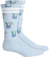 bar iii men's graphic socks, created for macy's