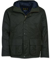 barbour harrow waxed cotton jacket / barbour horrow waxed cotton jacket, xx large
