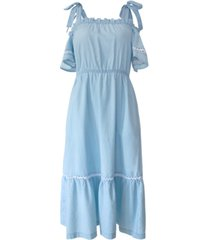 bcbgeneration cotton chambray dress