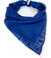 pañuelo azul nuevas historias símil seda ba110-48