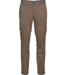 chaze flannel twill pants kostymbyxor formella byxor brun j. lindeberg