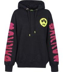 barrow logo sleeve printed hoodie