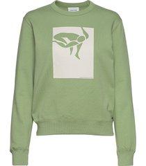 rose sweatshirt sweat-shirt trui groen wood wood