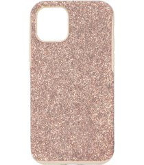 swarovski high rose gold-tone crystal smartphone case with bumper for iphone 11 pro