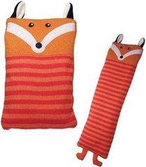 cozy critter aromatherapy neck warmer - fox