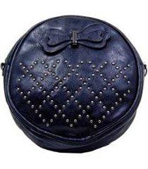 bolsa transversal via luna casual feminina