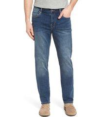men's liverpool regent straight leg jeans, size 35 x 32 - blue