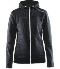 craft jas leisure full zip hood women black