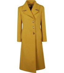 tory burch classic flared coat