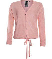 vest terry roze