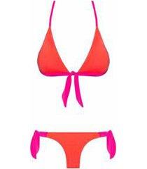 biquíni nanui swim top amarração calla feminino