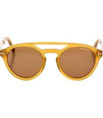 clint 50mm round sunglasses