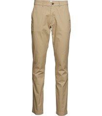 modern khakis in slim fit with gapflex chinos byxor beige gap