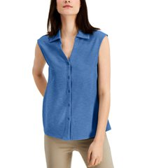alfani sleeveless blouse, created for macy's