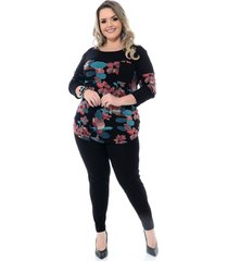 legging vitoria plus size preto