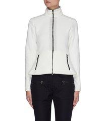 'freja' zip up recycled fleece jacket