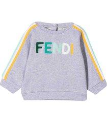 fendi gray sweatshirt