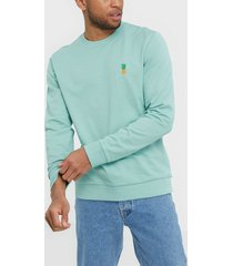 only & sons onsbilly reg crew neck sweat tröjor turkos