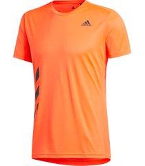 löpar-t-shirt run it 3-stripes pb tee
