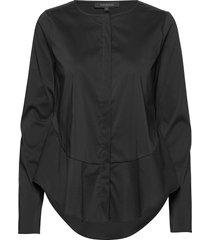 aimee shirt långärmad skjorta svart soft rebels