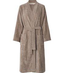 robe morgonrock brun rosemunde