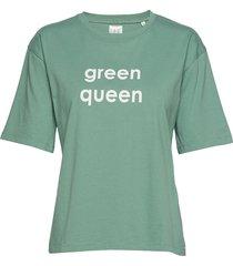 jamie t-shirts & tops short-sleeved grön line of oslo