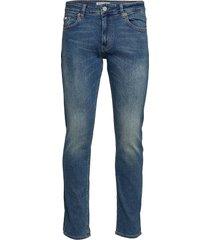 jeff premium blue slimmade jeans blå just junkies