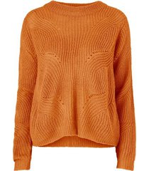 tröja jdydaisy l/s structure pullover