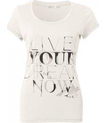 esqualo zacht off white shirt