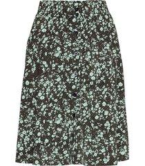 nina skirt knälång kjol svart soft rebels