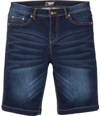 powerstretch-jeansshorts i bermudastil med bekvämt snitt
