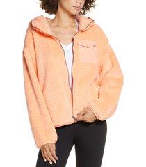 women's ugg kadence faux fur zip hoodie