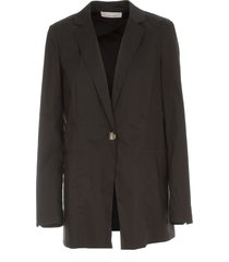 liviana conti long jacket poplin