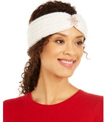 charter club snowflake headband, created for macy's