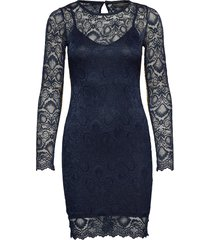 esther dress korte jurk blauw guess jeans