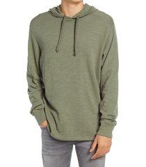 rag & bone classic flame slub hoodie, size xx-large in mineral green at nordstrom
