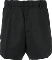 nº21 tailored fitted shorts - black