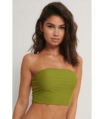 na-kd swimwear bred bikini-bh i bandeaumodell - green