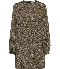 aram short dress aop 12949 kort klänning grön samsøe samsøe