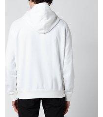polo ralph lauren men's fleece hoodie - white - xxl