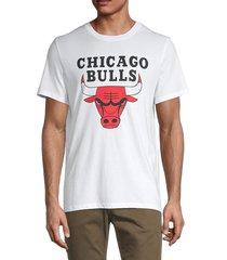 zadig & voltaire men's chicago bulls cotton tee - white - size s