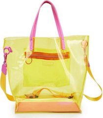like dreams clear retro colorway tote bag