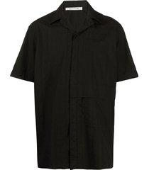 1017 alyx 9sm logo check shirt - black