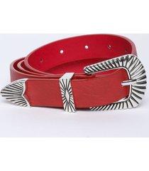 cinturón betty rojo eclipse